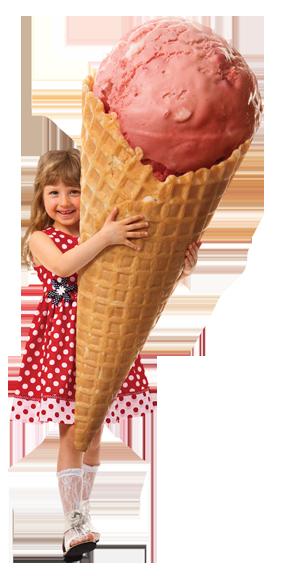 girl at cinema with icecream